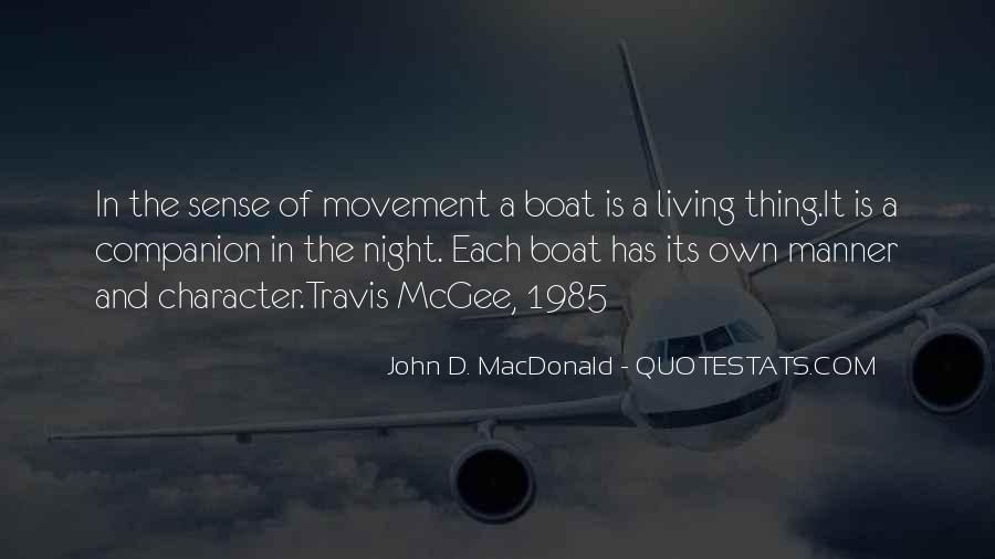 John D Macdonald Travis Mcgee Quotes #1809181
