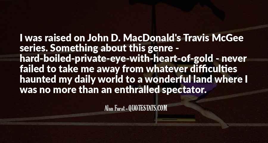 John D Macdonald Travis Mcgee Quotes #2847