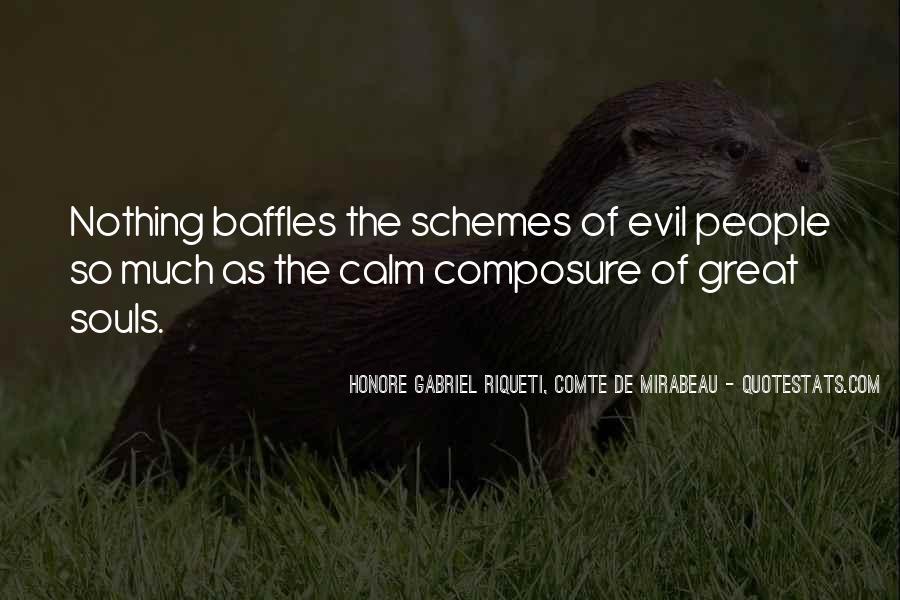 Quotes About Evil Schemes #264725