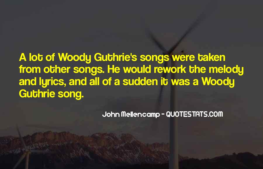 John Guthrie Quotes #1519542