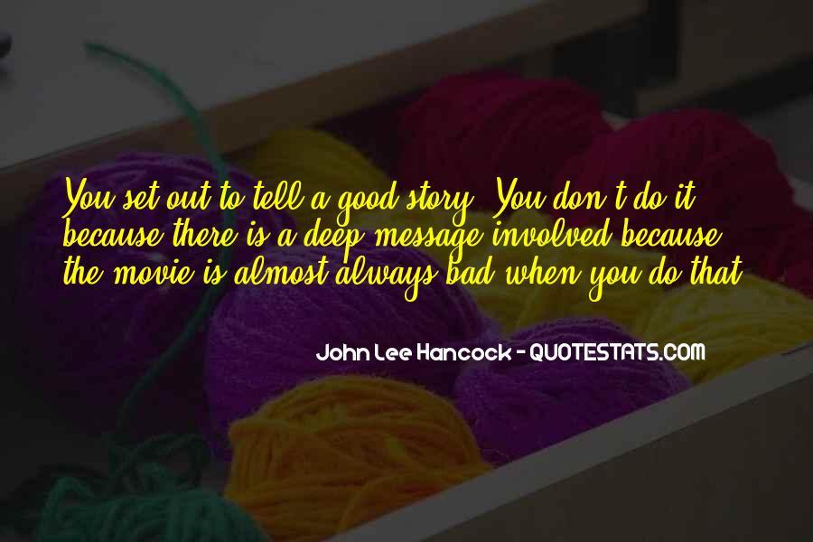 John Hancock Movie Quotes #105422