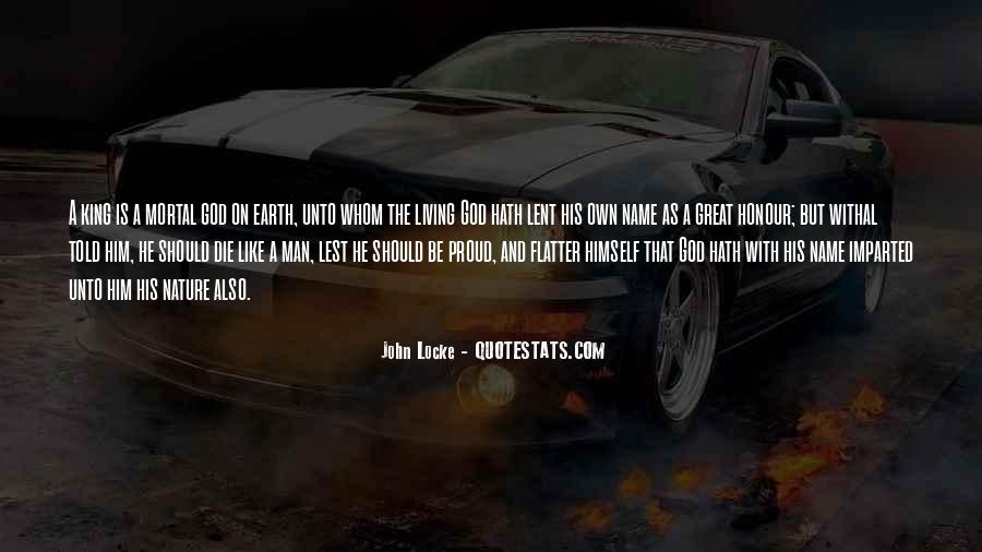 John Locke Nature Of Man Quotes #1667458