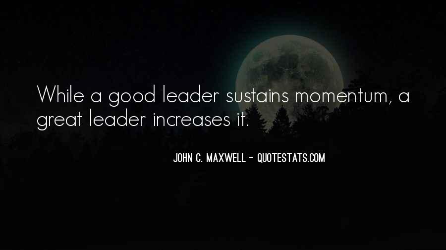 John Maxwell Momentum Quotes #1425798