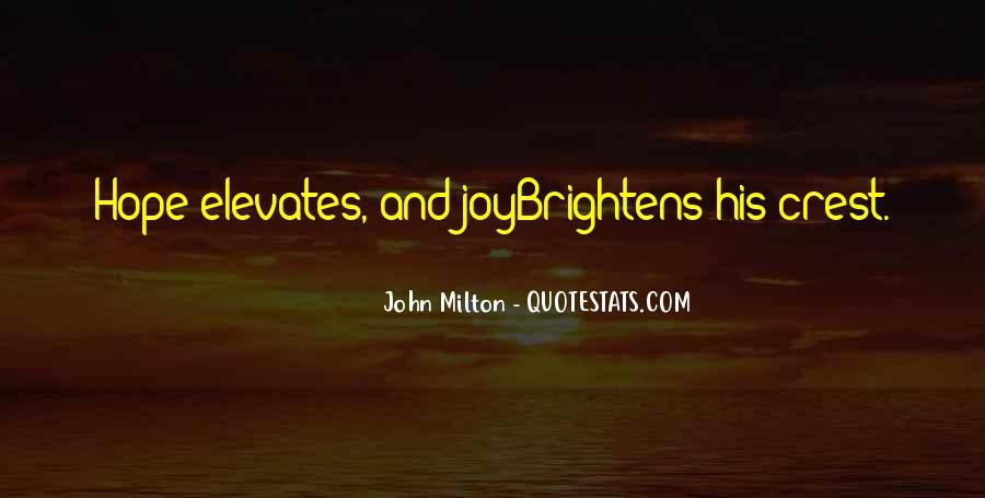 John Milton Paradise Lost Book 9 Quotes #1547504