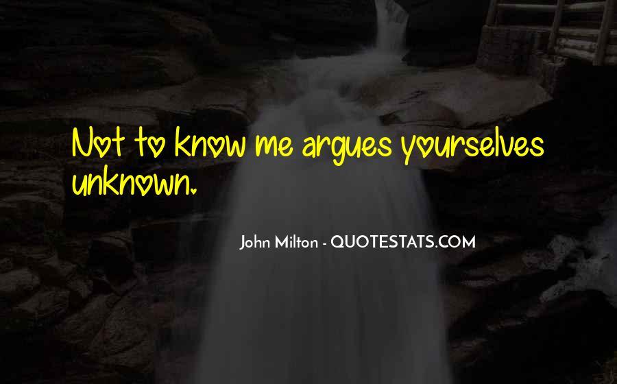 John Milton Paradise Lost Book 9 Quotes #1820390