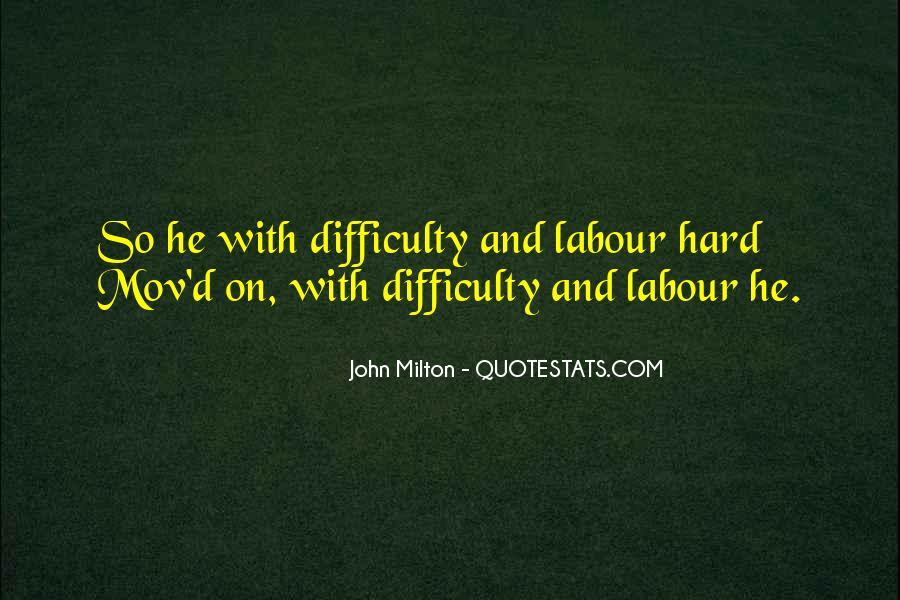 John Milton Paradise Lost Book 9 Quotes #1830030