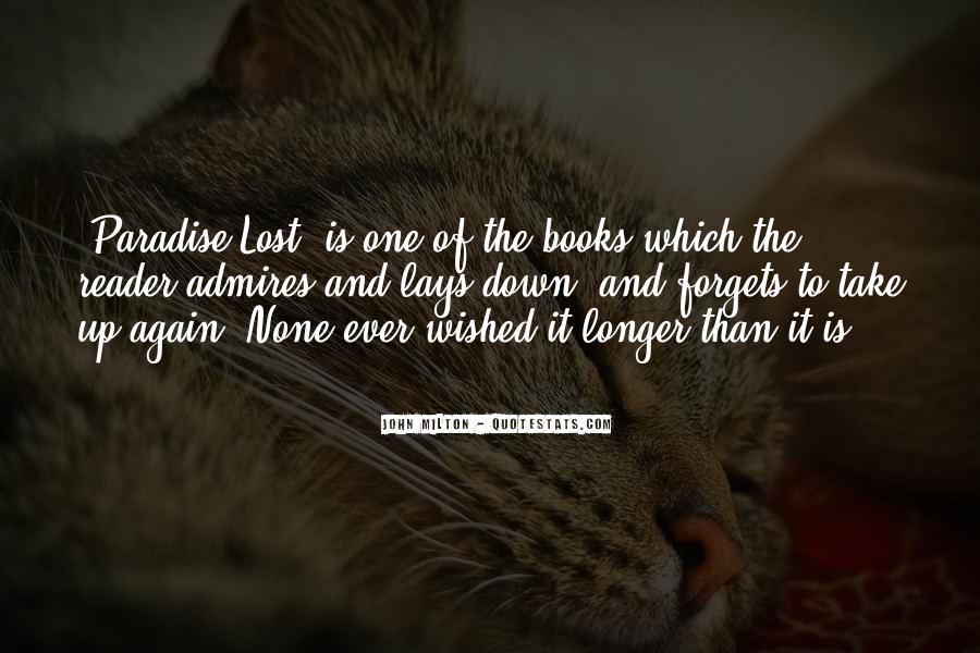 John Milton Paradise Lost Book 9 Quotes #626879
