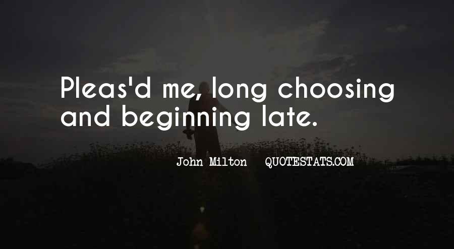 John Milton Paradise Lost Book 9 Quotes #956125