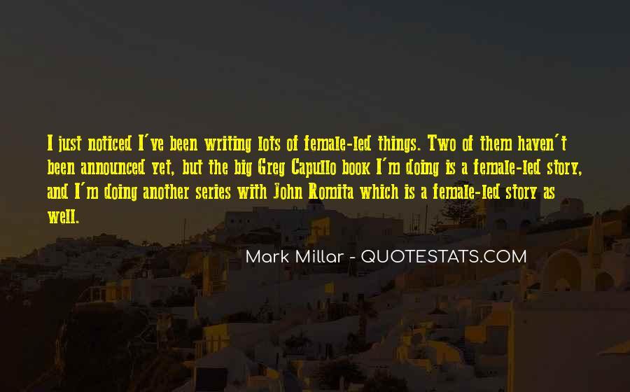 John Romita Jr Quotes #171381
