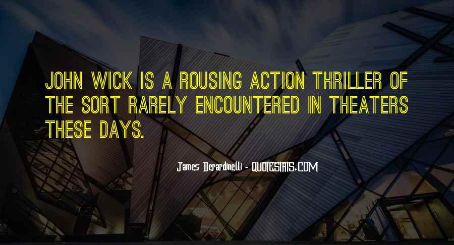John Wick's Quotes #1066289