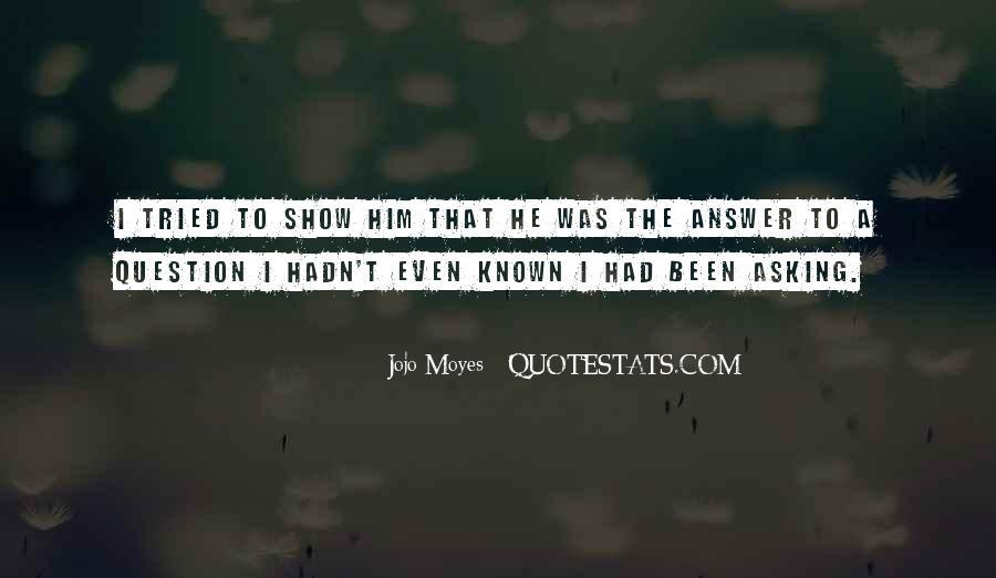 Jojo Asb Quotes #4121