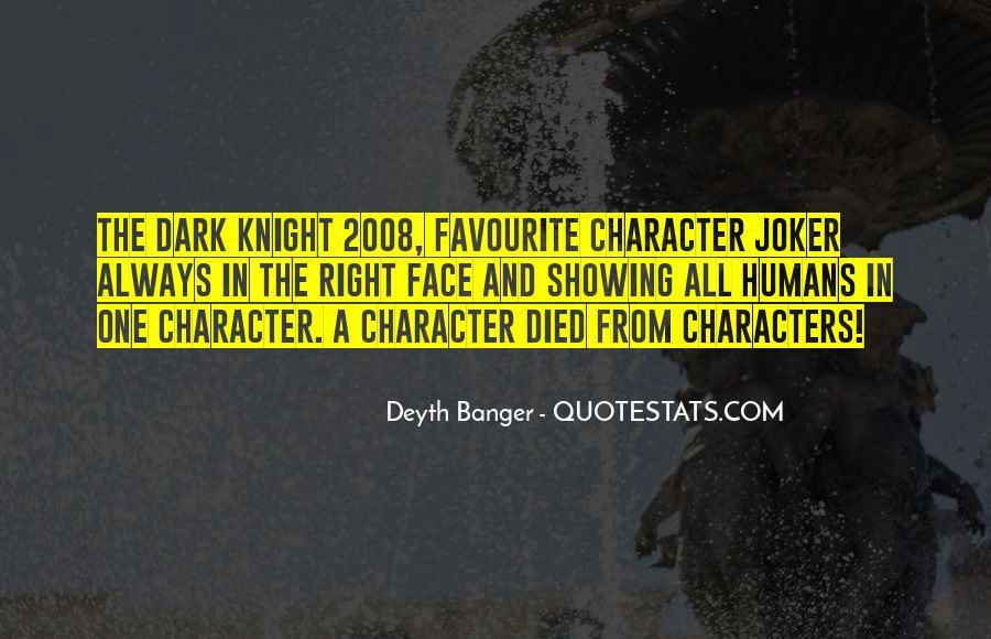 Joker 2008 Quotes #41039