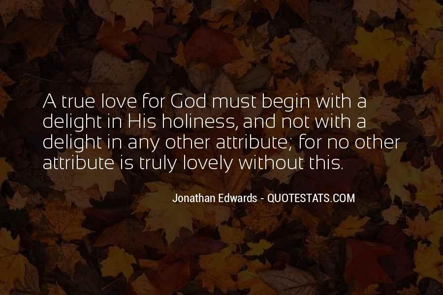 Jonathan Edwards Holiness Quotes #1157331