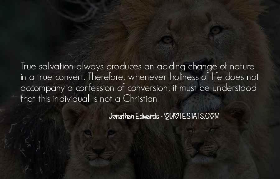 Jonathan Edwards Holiness Quotes #156977