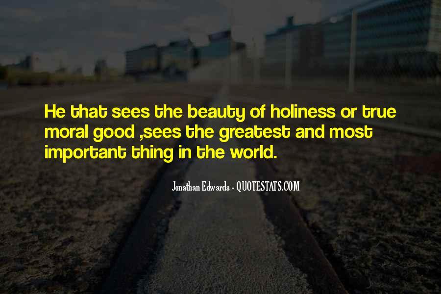 Jonathan Edwards Holiness Quotes #1631852