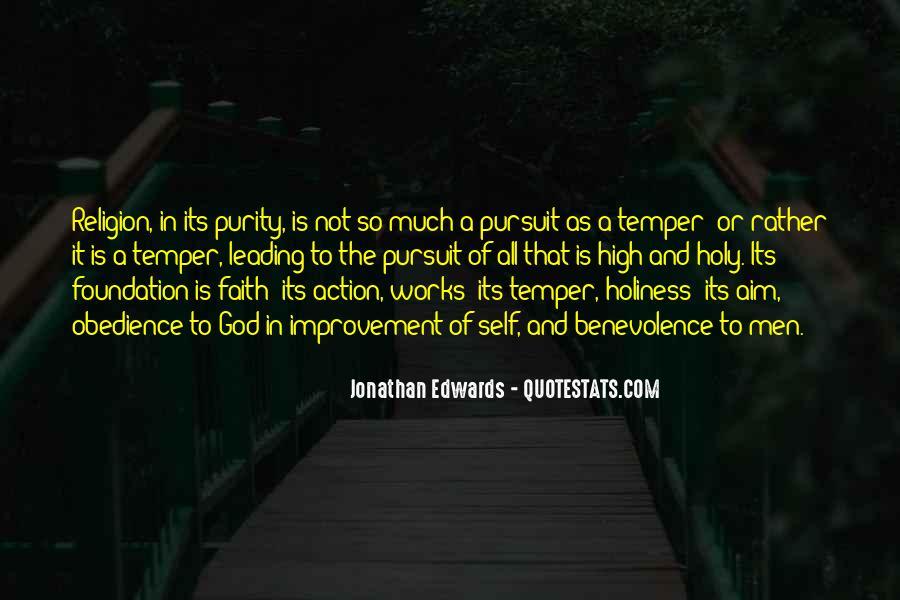 Jonathan Edwards Holiness Quotes #444172