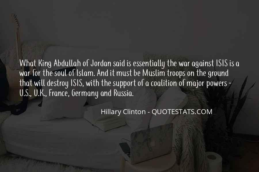 Jordan King Abdullah Quotes #801275