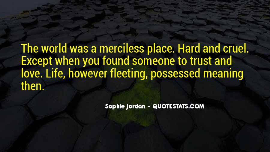 Jordan Love Quotes #710977