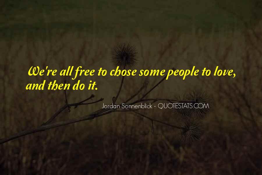 Jordan Love Quotes #949893