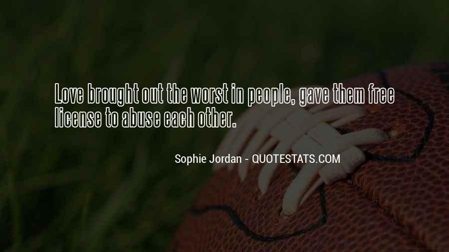 Jordan Love Quotes #952308