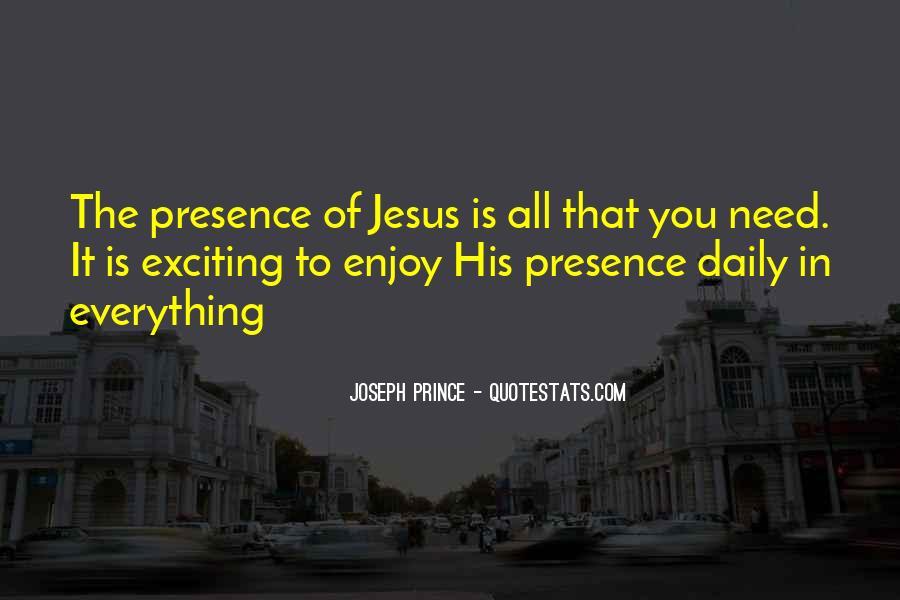 Joseph Prince Daily Quotes #265510