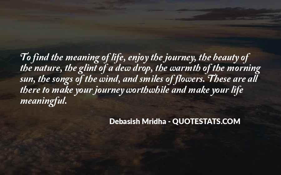 Journey Into Nature Quotes #108136