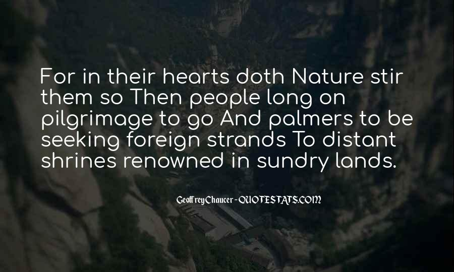 Journey Into Nature Quotes #297810