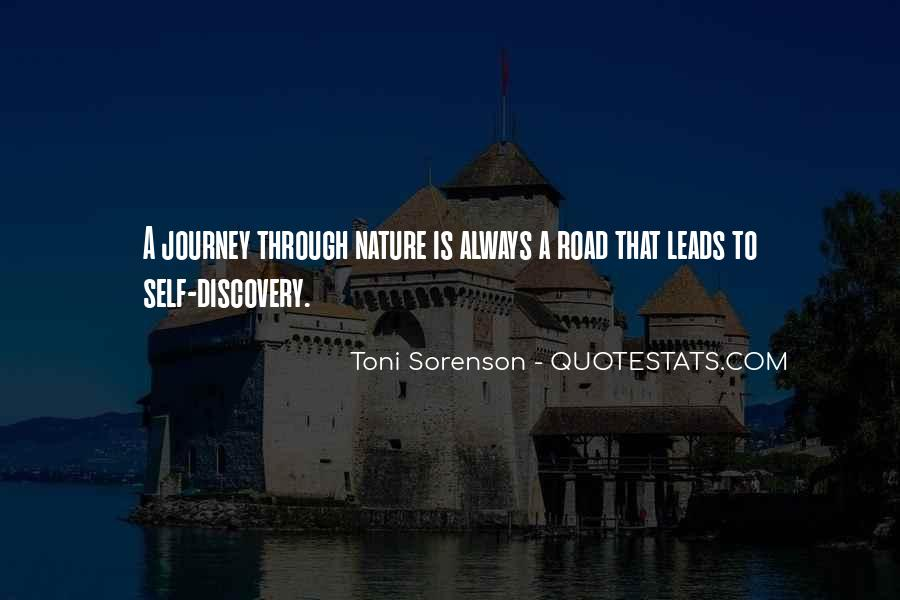 Journey Into Nature Quotes #799212