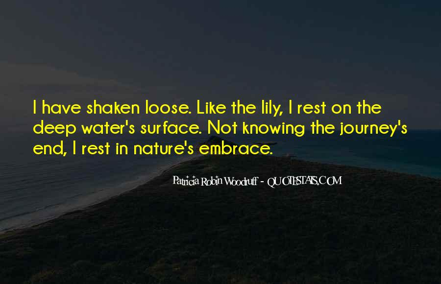 Journey Into Nature Quotes #973237