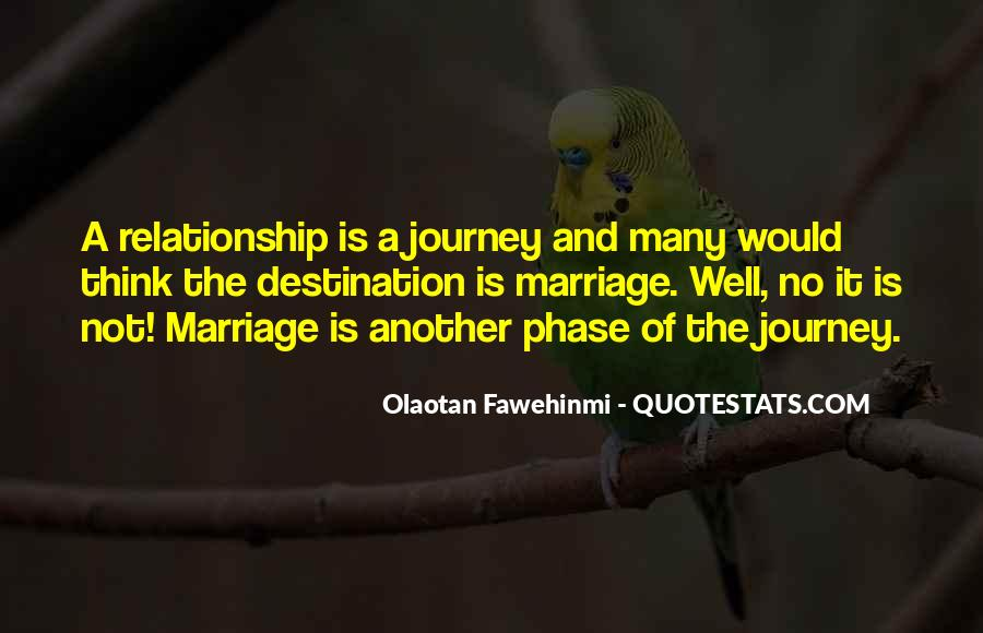Journey Is Not Over Quotes #11364