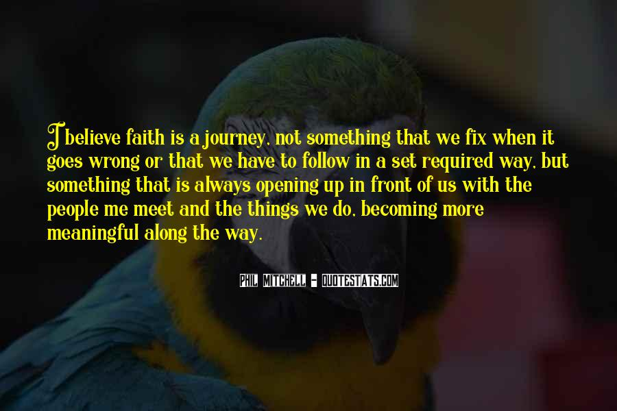 Journey Is Not Over Quotes #1140