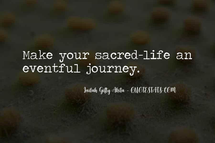 Journey Is Not Over Quotes #14755