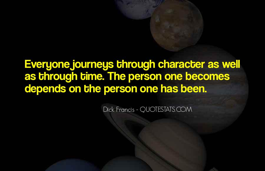 Journey Is Not Over Quotes #15910