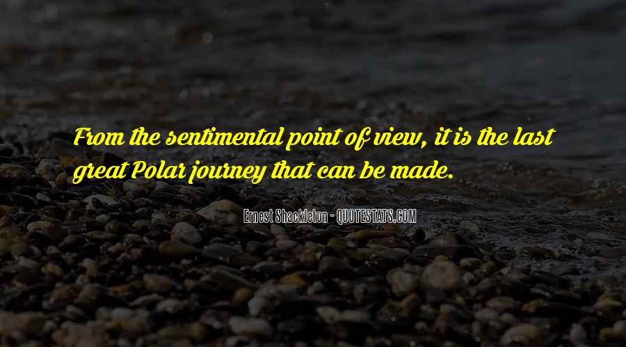 Journey Is Not Over Quotes #18496