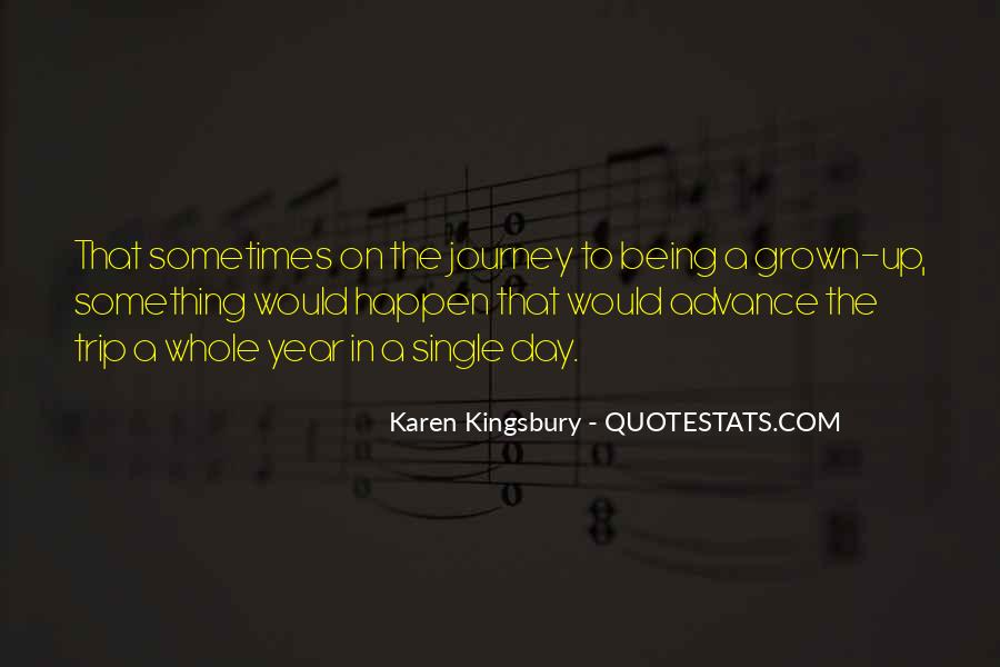 Journey Is Not Over Quotes #22060