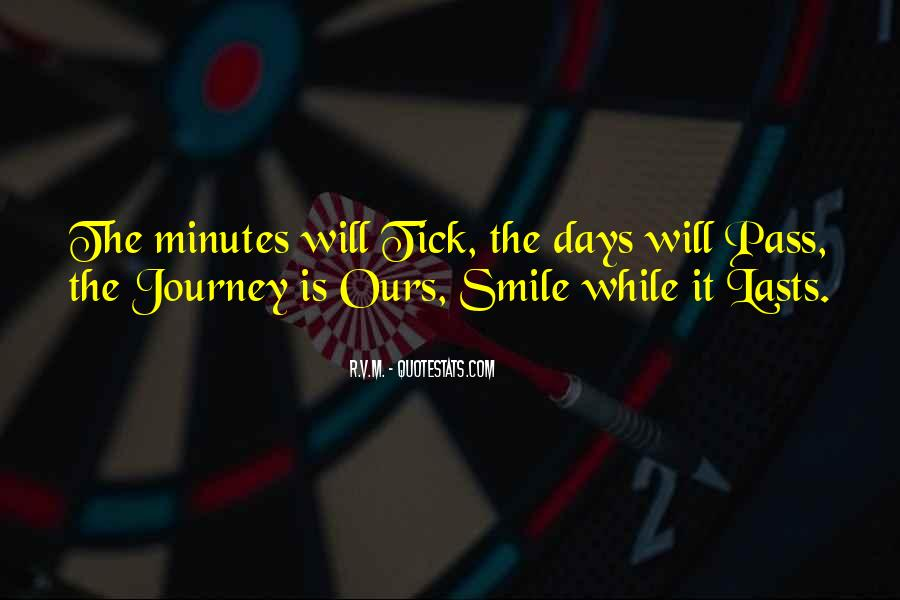 Journey Is Not Over Quotes #23938