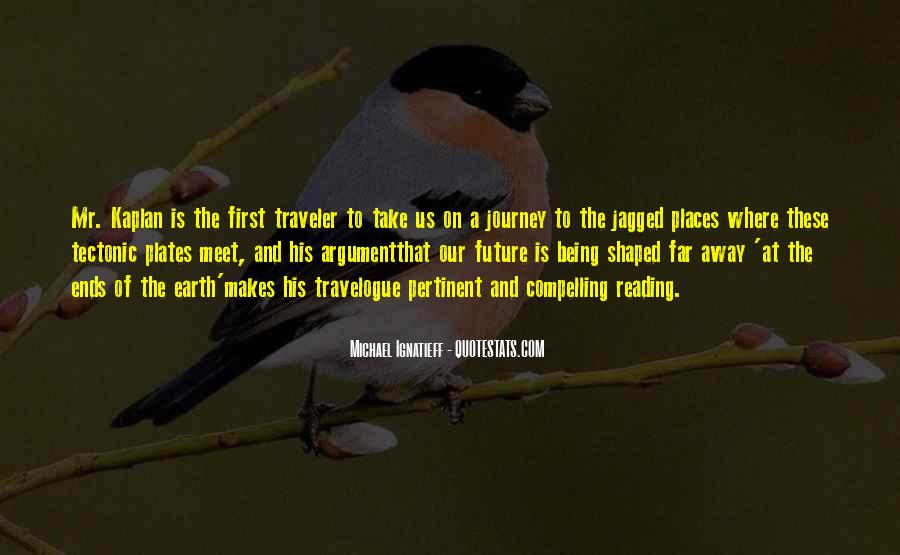 Journey Is Not Over Quotes #28208