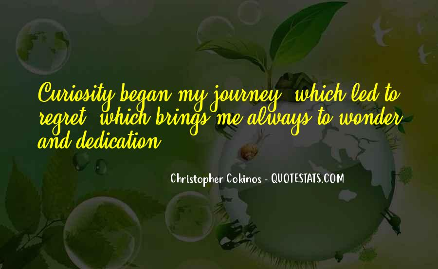 Journey Is Not Over Quotes #28648
