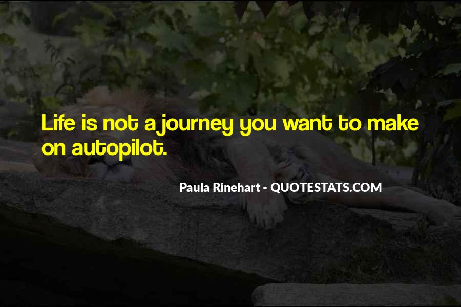 Journey Is Not Over Quotes #30148
