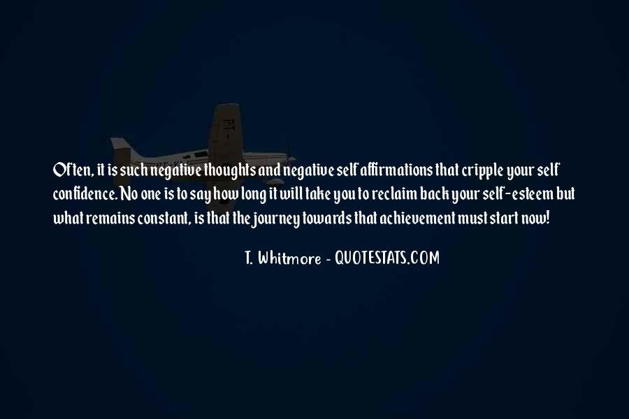Journey Is Not Over Quotes #32971