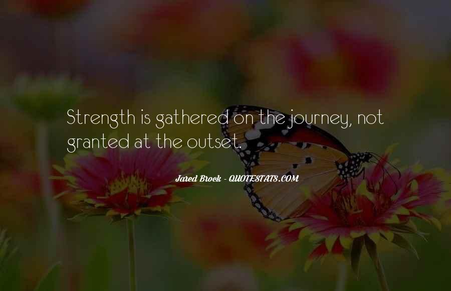 Journey Is Not Over Quotes #3301