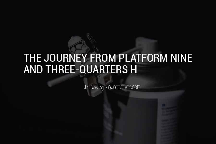 Journey Is Not Over Quotes #33279