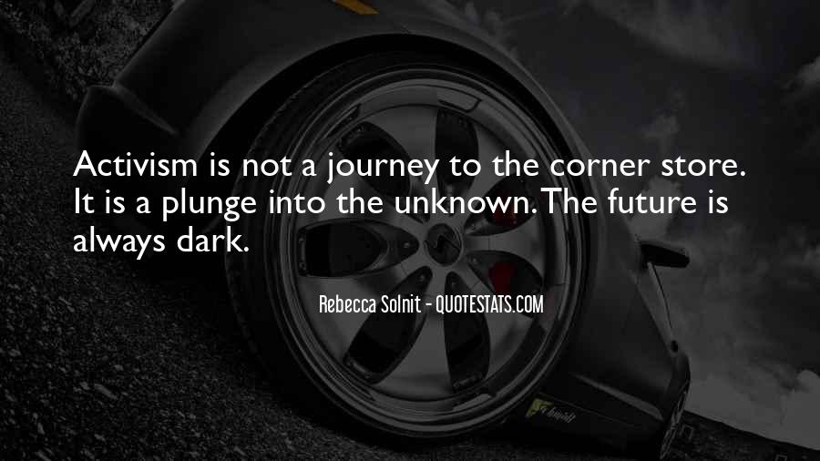 Journey Is Not Over Quotes #35649