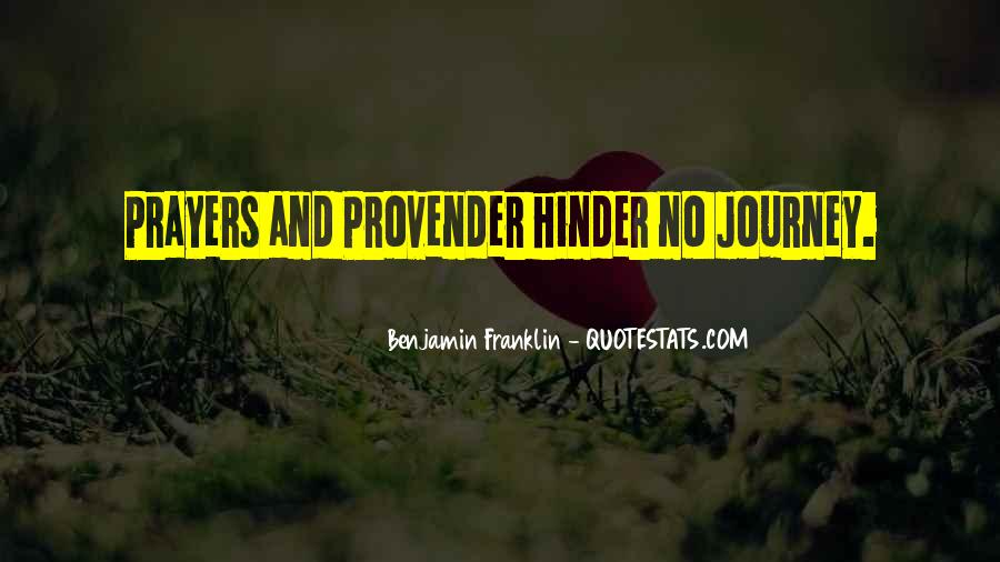 Journey Is Not Over Quotes #37098