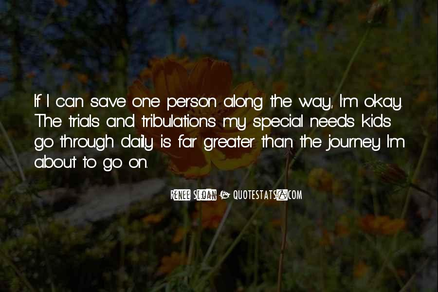 Journey Is Not Over Quotes #3849