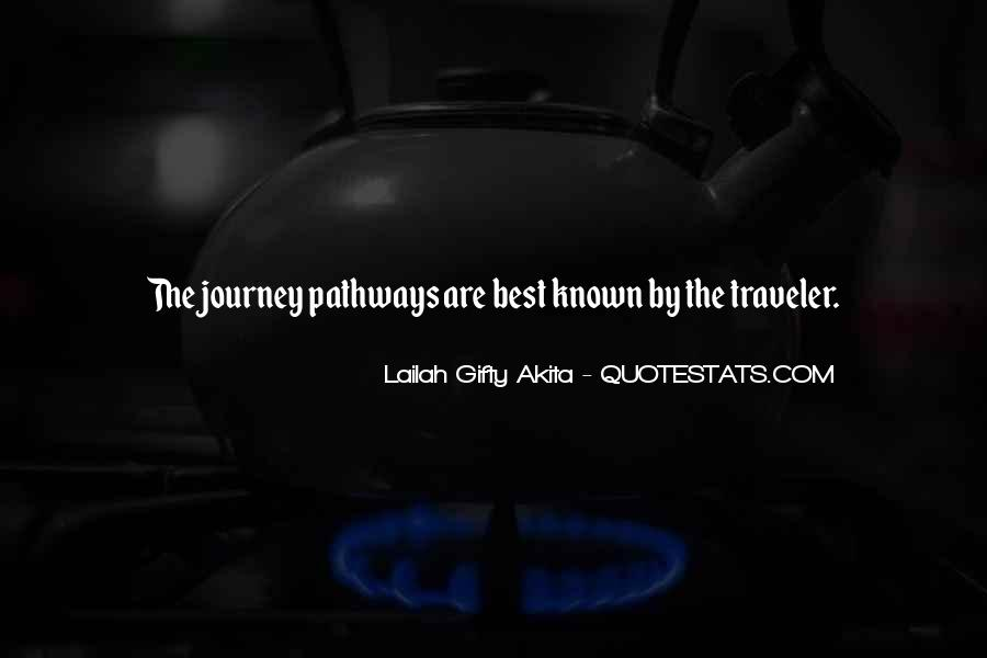 Journey Is Not Over Quotes #4373