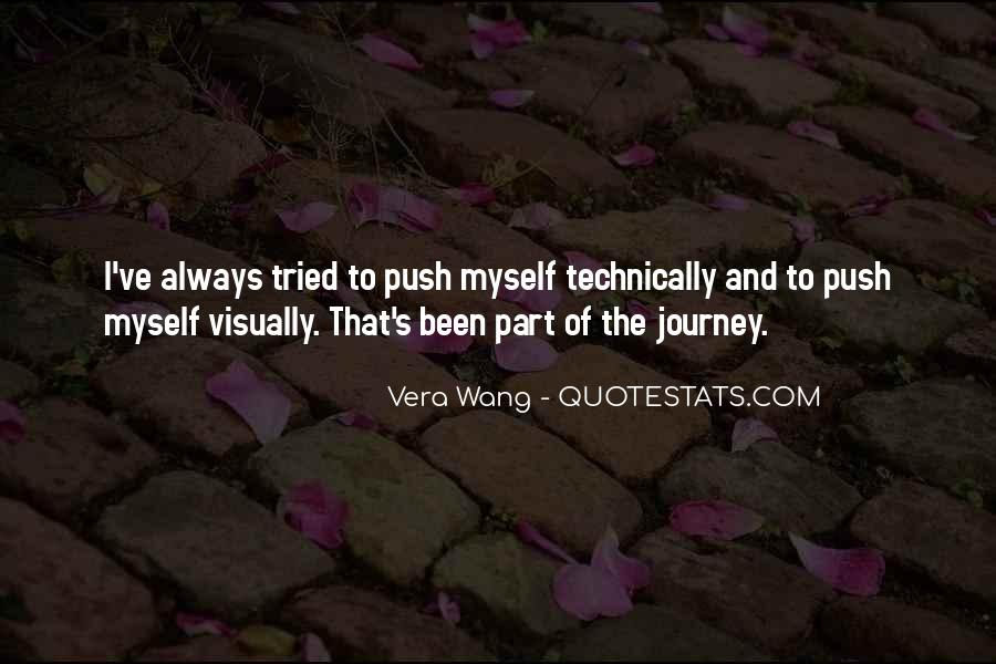 Journey Is Not Over Quotes #6409