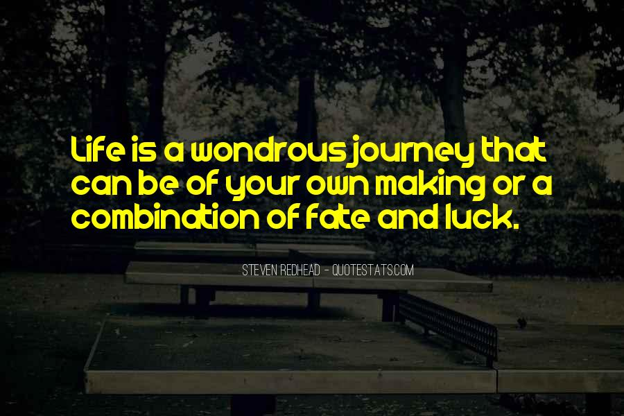 Journey Is Not Over Quotes #7264