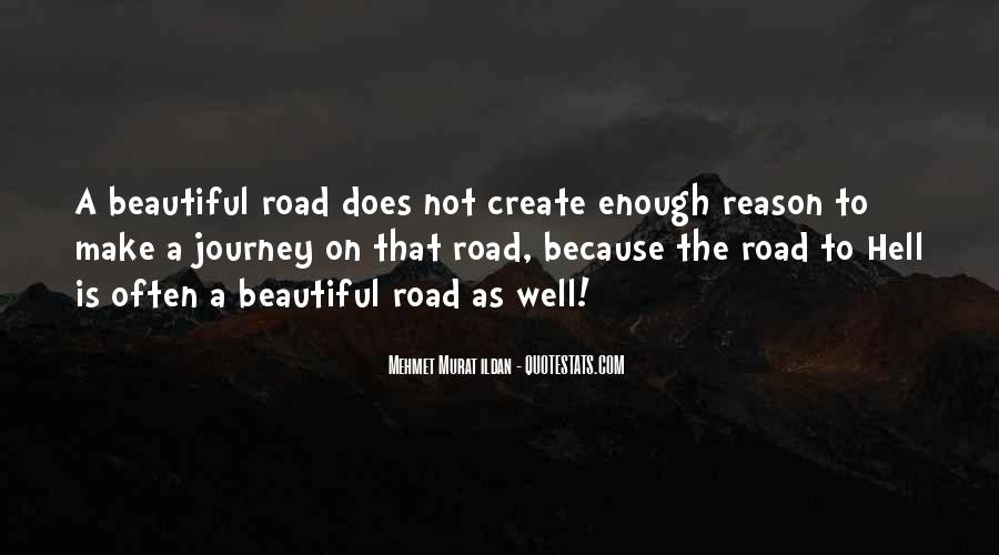 Journey Is Not Over Quotes #9887