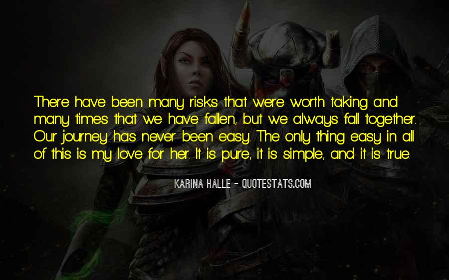 Journey Together Love Quotes #1039082
